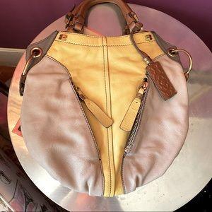 orYANY Victoria Pebble Leather Hobo Bag